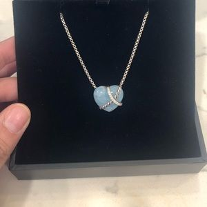 le petit coeur heart necklace david yurman